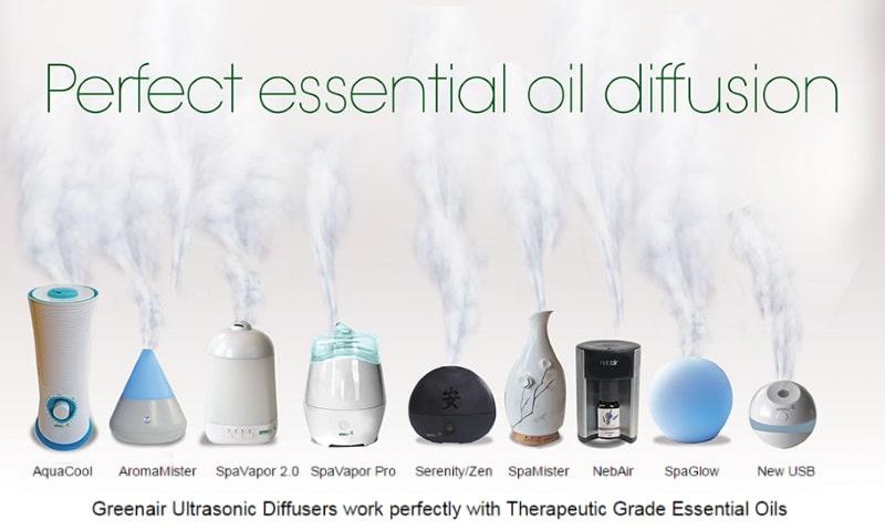 Top 5 Best Ultrasonic Essential Oil Diffusers By Greenair 174