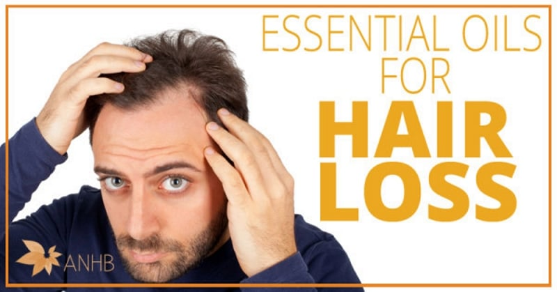Hair loss treatment essential oils