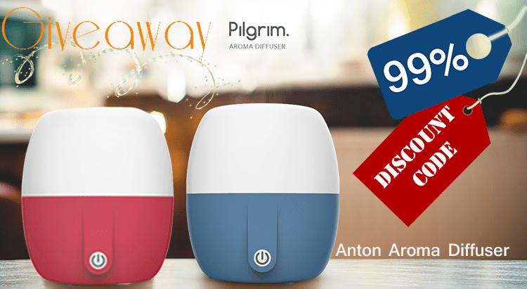 The Pilgrim® Collection Anton Ultrasonic Diffuser