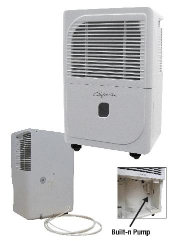 Comfort-Aire® Energy Star® 70-Pint Portable Dehumidifier