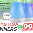 Essential Oil Diffuser Giveaway April 2016