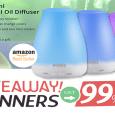 Essential Oil Diffuser Giveaway April 2016