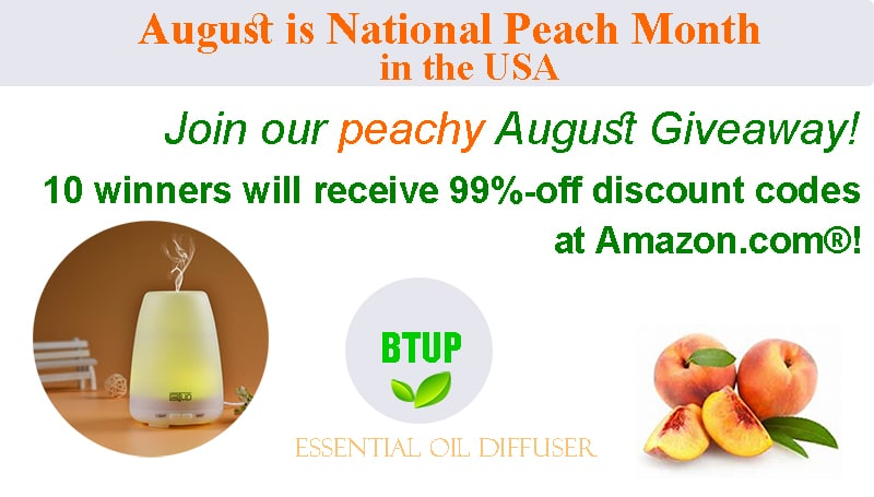 National Peach Month—August Giveaway